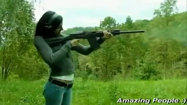 Top 10 Epic Girl Gun Fails