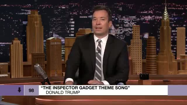 Bottom of the Charts: Donald Trump Covers 'Inspector Gadget Theme'