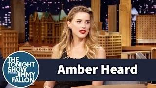 Amber Heard Explains Her Tattoos - The Tonight Show Starring Jimmy Fallon