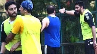 Abhishek Bachchan's BIG FIGHT During A Match | Ranbir Kapoor
