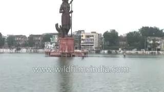 Gujarat - Baroda city floods over