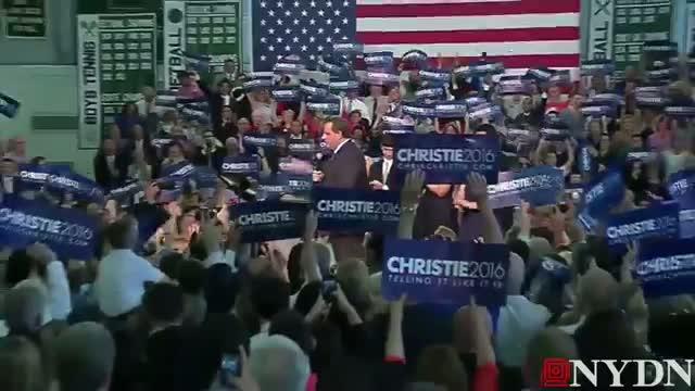 Chris Christie announces he's running for President