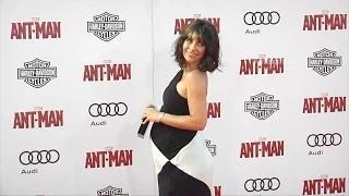 Evangeline Lilly Pregnant - Marvel's Ant-Man World Premiere Red Carpet