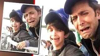 Hrithik Roshan CRIED With Son
