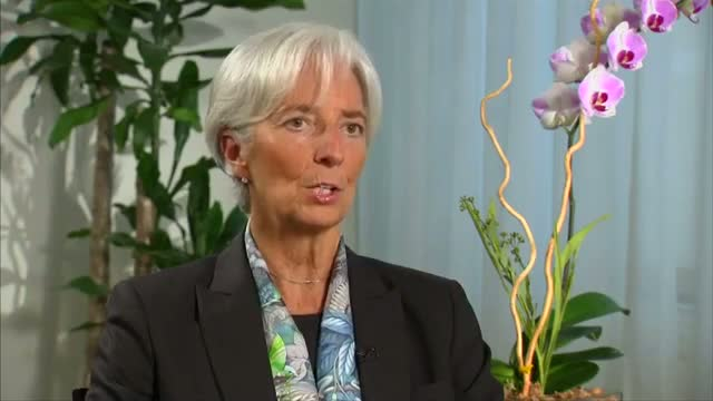 IMF's Lagarde says Greece must reform before getting debt relief