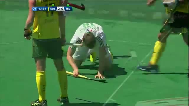 Australia v Ireland Match Highlights - Antwerp Men's HWL (2015)