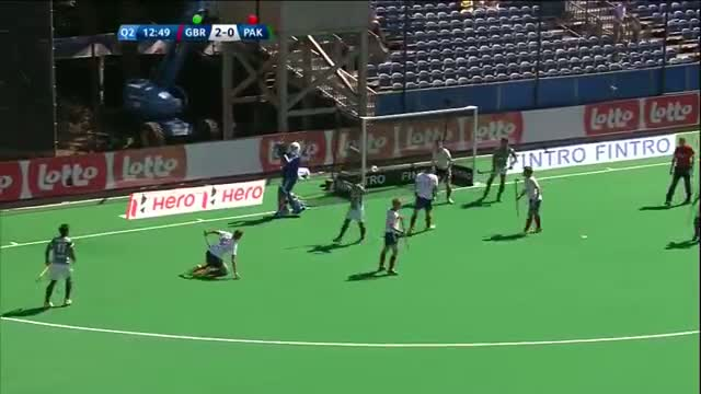 Great Britain v Pakistan Match Highlights - Antwerp Men's HWL (2015)
