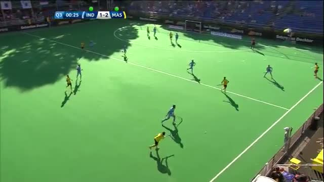 India v Malaysia Match Highlights - Antwerp Men's HWL (2015)