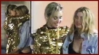 MILEY CYRUS MAKES OUT WITH MODEL STELLA MAXWELL!