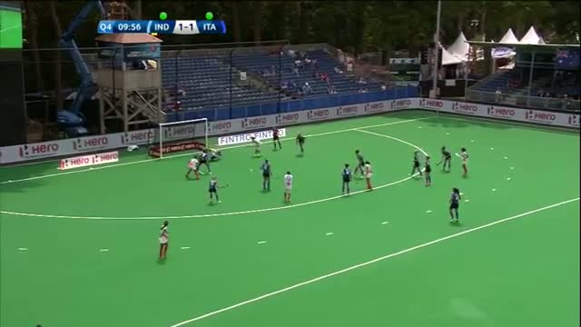 India v Italy Match Highlights - Antwerp Women's HWL (2015)