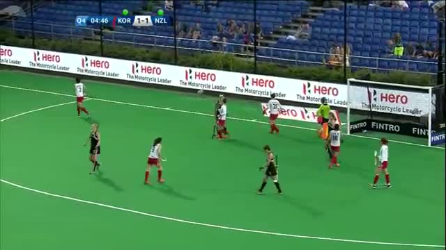 Korea v New Zealand Match Highlights - Antwerp Women's HWL (2015)