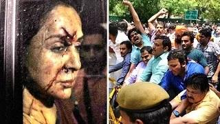 Fans PROTEST Hema Malini For Road Accident Video