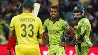 Shane Watson vs Wahab Riaz World Cup 2015 - Pakistan vs Australia HD