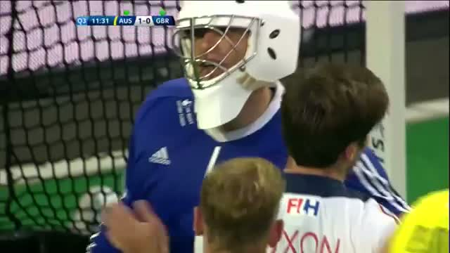 Australia v Great Britain Match Highlights - Antwerp Men's HWL (2015)