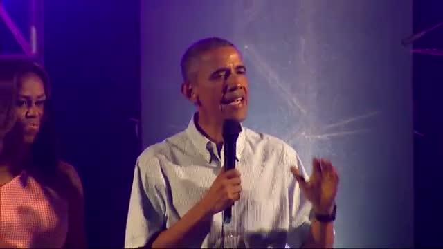 Obama thanks military families