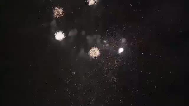 Fireworks Light Up New York City