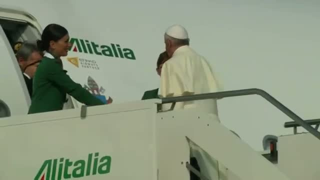 Pope Francis Departs for South America