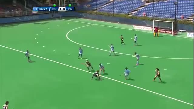 India v Japan Match Highlights - Antwerp Women's HWL 2015
