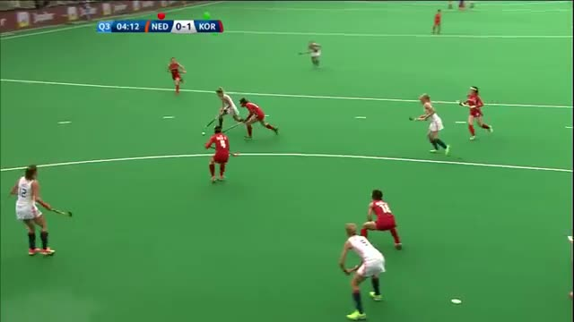 Netherlands v Korea Match Highlights Antwerp Women's HWL 2015