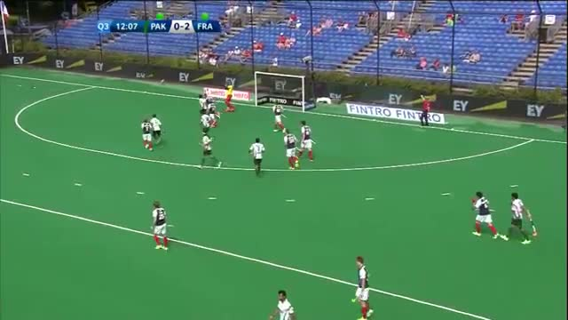 Pakistan v France Match Highlights - Antwerp Men's HWL (2015)