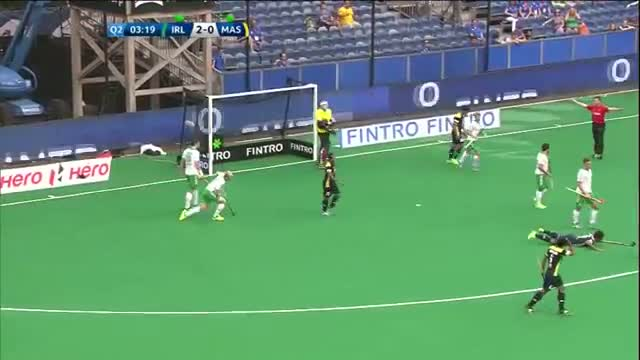 Ireland v Malaysia Match Highlights - Antwerp Men's HWL (2015)