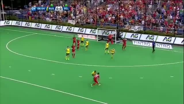 Australia v Belgium Match Highlights - Antwerp Men's HWL (2015)