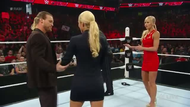 Dolph Ziggler and Lana confront Rusev and Summer Rae: WWE Raw, July 6, 2015