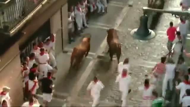 Running of Bulls Opens, 1 Person Gored