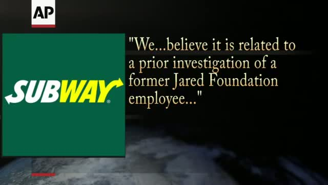 Subway Suspends Relationship with Pitchman Jared