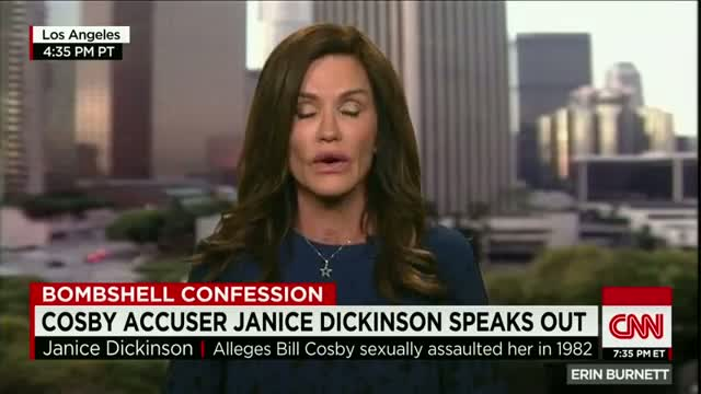 Bill Cosby accuser Janice Dickinson speaks out