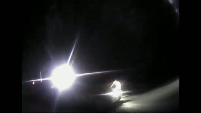 Naked Man Steals Police Cruiser