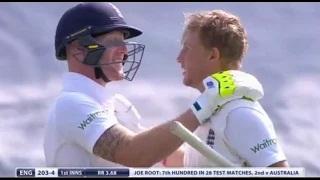 Joe Root 134 Runs Inning - England vs Australia 1st Investec Test Day 1 Ashes 2015 HIghlights