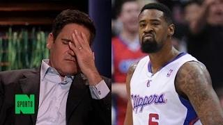 DeAndre Jordan Didn't Contact Mark Cuban at All Before Re-Signing With the Clippers (Ouch)