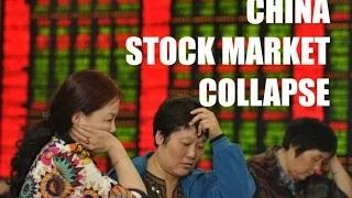 CHINA STOCK MARKET COLLAPSE - Forget Greece. China is the Real Problem!