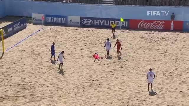 Tahiti v. Madagascar HIGHLIGHTS - FIFA Beach Soccer World Cup 2015
