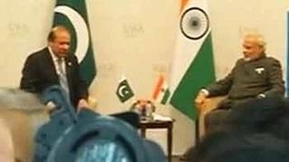 PM Modi-Nawaz Sharif meet for bilateral talks in Russia; Lakhvi, terror on agenda