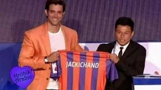 Hrithik Roshan at ISL Auction 2015