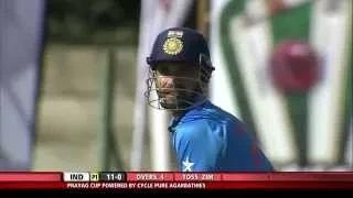 Ajinkya Rahane leading from the front with a good start with his 63 runs - Zim vs Ind 2nd ODI 2015