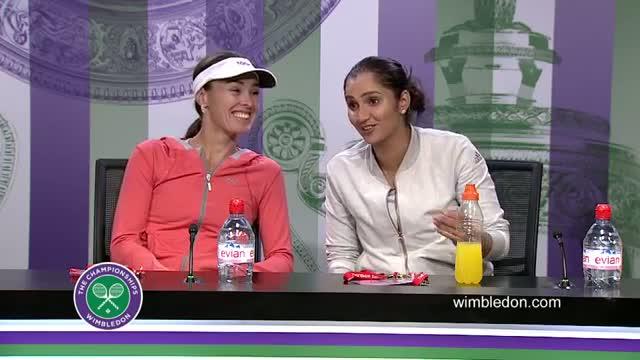 Martina Hingis & Sania Mirza Final Press Conference