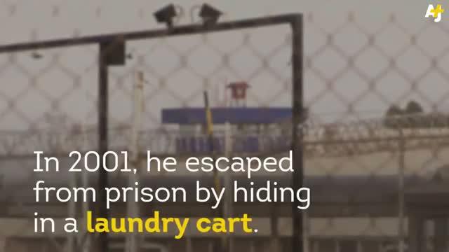 Mexican Drug Lord El Chapo Escapes Prison, Shawshank Style