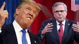 Donald Trump ties Jeb Bush: El Chapo escape boosts Trump to top the GOP candidates 2016