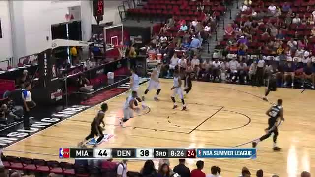 NBA: Shabazz Napier Electrifies in Las Vegas!