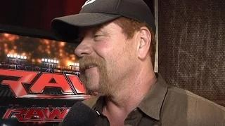 'The Walking Dead' star Michael Cudlitz comes to Raw: WWE Exclusive, July 13, 2015