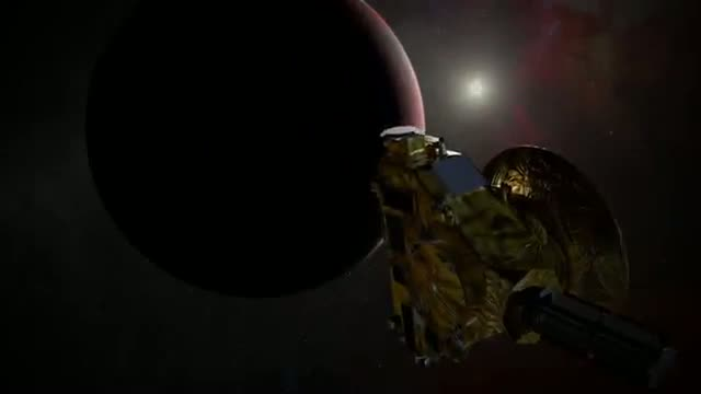 Bastille Shout-Out for NASA's Bastille Day Pluto Flyby