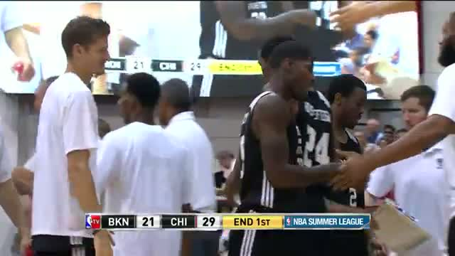 NBA: Deshawn Delaney Nails the Three at the Buzzer!