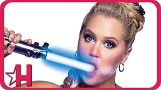 Amy Schumer Topless in Raunchy Star Wars Photoshoot