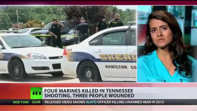 'Act of domestic terrorism': 5 dead in Chattanooga shooting, TN
