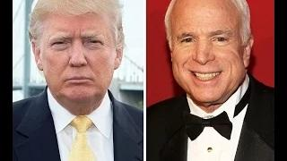 Donald Trump Catches Heat For John McCain Statement