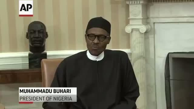 Obama, Nigerian President Meet at White House