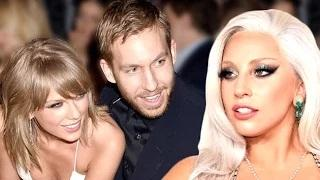 Taylor Swift revealed credits Lady Gaga for the love of her life Calvin Harris. Watch the story.